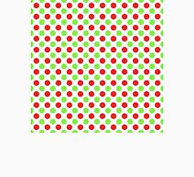 Red and Green Polka Dots Unisex T-Shirt