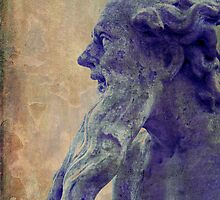 Skulpture with beard by RosiLorz