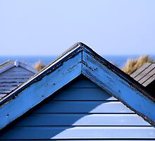Beach huts in Hunstanton by shootingnelly