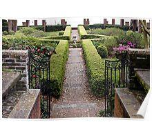 The English Garden Poster