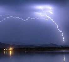 Electrical Arcing Sky by Bo Insogna