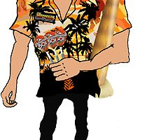 Wayne 'Hawaii 501' Mardle by spacemonkey89