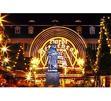 Beethoven is celebrating Christmas Photographic Print