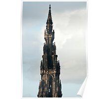 Spire of the Scott Monument, Edinburgh Poster
