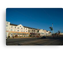 Blackpool guesthouses Canvas Print