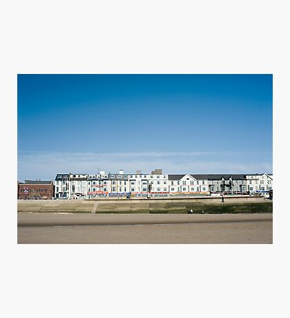 Blackpool seafront guest houses Photographic Print