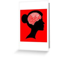 What's on your mind? Greeting Card