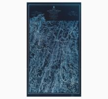 Civil War Maps 1107 Maps illustrating the military operations of the Atlanta campaign 1864 03 Inverted One Piece - Short Sleeve