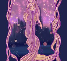 The girl with the Magic Hair by Nana Leonti