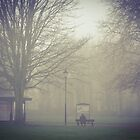 foggy morning in Liverpool  by Debra Kurs