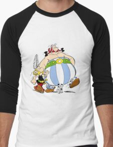 asterix Men's Baseball ¾ T-Shirt