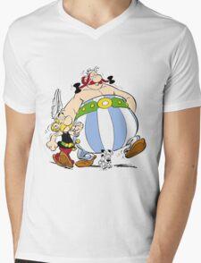 asterix Mens V-Neck T-Shirt