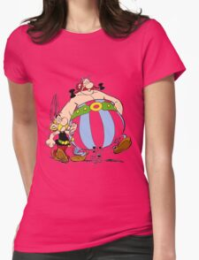 asterix Womens Fitted T-Shirt