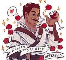 Dorian Approval - Dragon Age by endrae