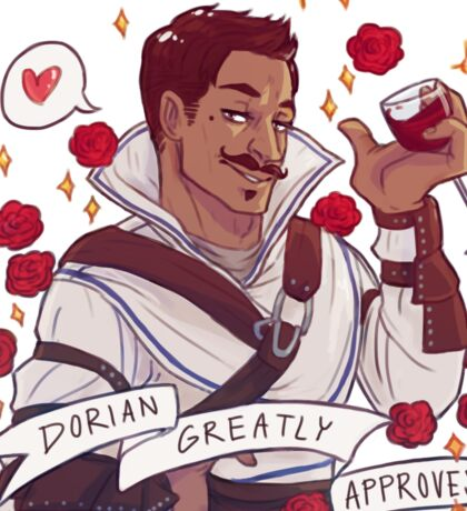 Dorian Approval - Dragon Age Sticker
