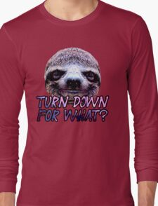 Turn Down For What? Sloth T-Shirt