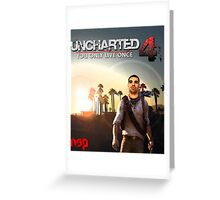 Uncharted 4 Yolo Greeting Card