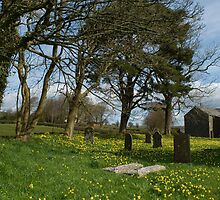 Country village churchyard by photoeverywhere