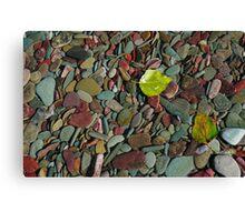 Coloured Stones Canvas Print