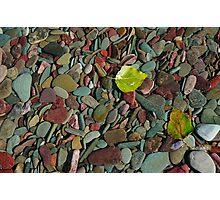 Coloured Stones Photographic Print