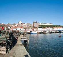 Whitby fishing Port by photoeverywhere