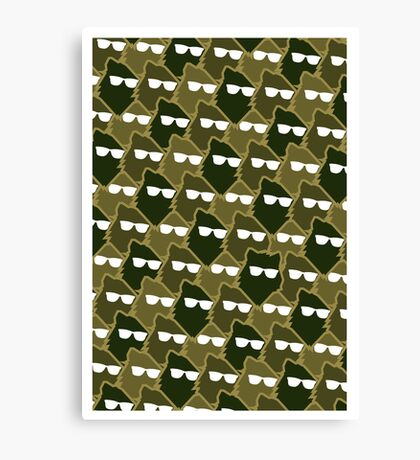 Wolf Wall - Army Man Canvas Print