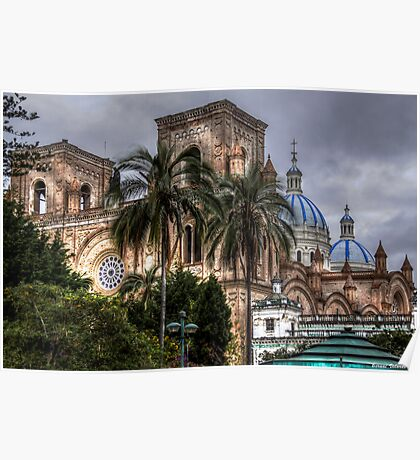Cathedral of Cuenca Poster