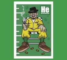 Cartoon Heisenberg by applicationcity