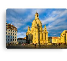 Frauenkirche in Dresden, Germany Canvas Print