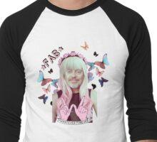 steve buscemi is a pastel goth girl Men's Baseball ¾ T-Shirt