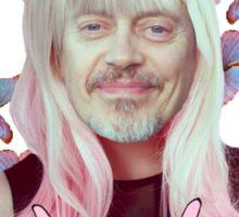 steve buscemi is a pastel goth girl Sticker