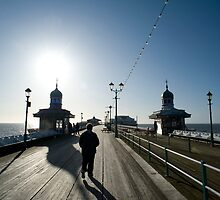 People on Blackpool North Pier by photoeverywhere