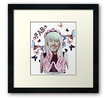 steve buscemi is a pastel goth girl Framed Print