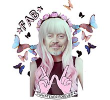 steve buscemi is a pastel goth girl Photographic Print