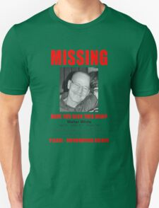 "Breaking Bad ""Missing"" Poster T-Shirt"