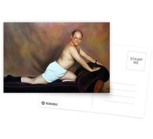 George pose Greeting Card