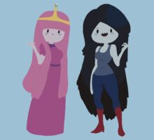 bubblegum and marceline by camitha