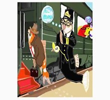 Railroad Conductor And His Passengers Unisex T-Shirt