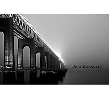 Tay rail bridge ,Dundee Photographic Print