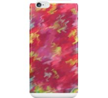 Pinky Abstract watercolour iPhone Case/Skin
