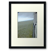 Pancake Ice Framed Print