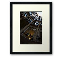 Whimsical, Intricate Antoni Gaudi Architecture  Framed Print
