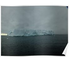 Huge Ice Berg Poster