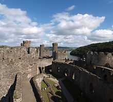 Conwy Castle (6) by kalaryder