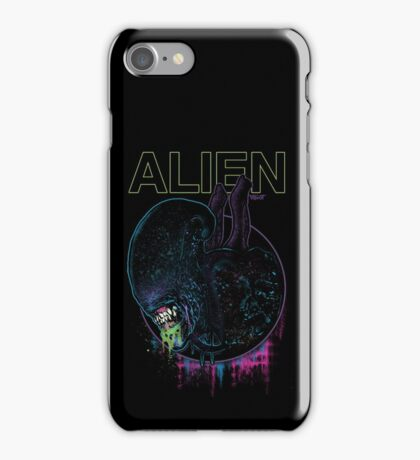 ALIEN XENOMORPH HORROR iPhone Case/Skin