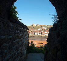 St Marys Church and Whitby by photoeverywhere