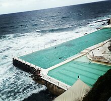Bondi Icebergs by Megan Thomas