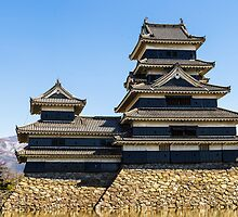Matsumoto - Castle full view by Quentin Jarc