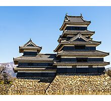 Matsumoto - Castle full view Photographic Print