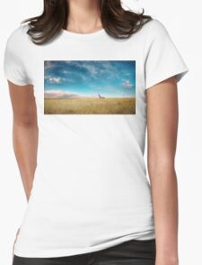 Breaking Bad- RV scenery  Womens Fitted T-Shirt